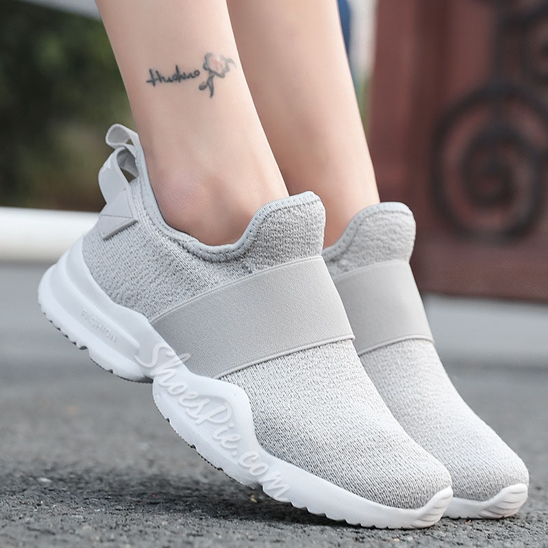 Shoespie Casual Mesh Flat Sneakers