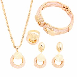 Necklace E-Plating European Gift Jewelry Sets