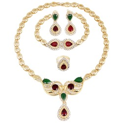 Diamante Necklace Ethnic Prom Jewelry Sets