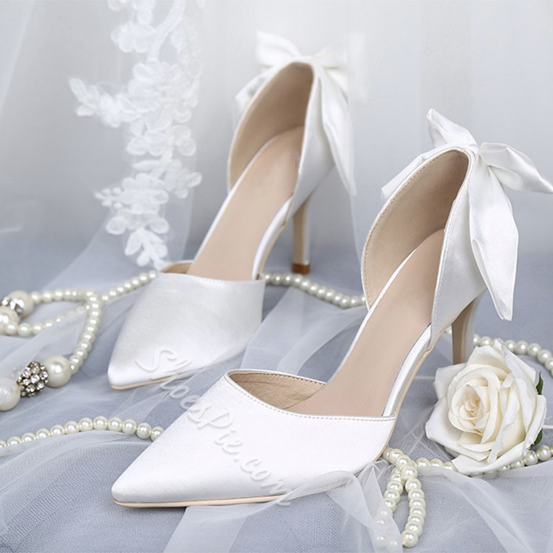 Shoespie Pointed Toe Stiletto Heel Prom Shoes