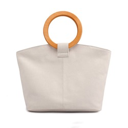 Shoespie Plain Canvas Tote Bags