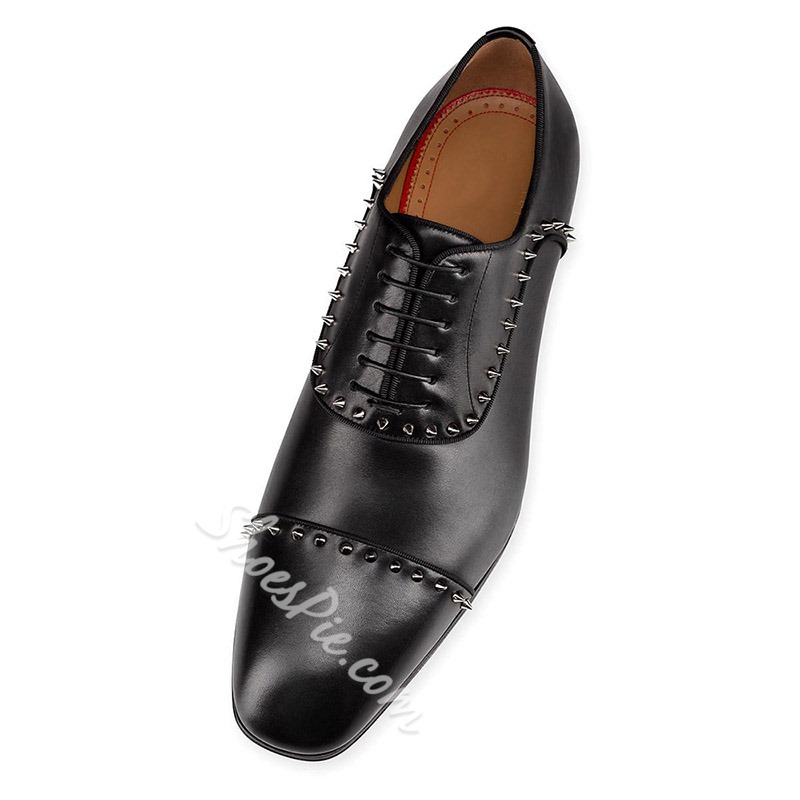 Shoespie Men's Leather Oxford Shoes