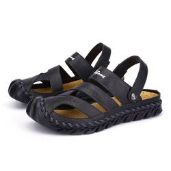 Shoespie Men's Summer Hollow Casual Sandals
