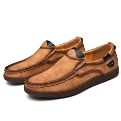 Shoespie Men's Soft Slip On Loafers
