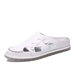 Shoespie Men's Backless Casual Summer Slippers