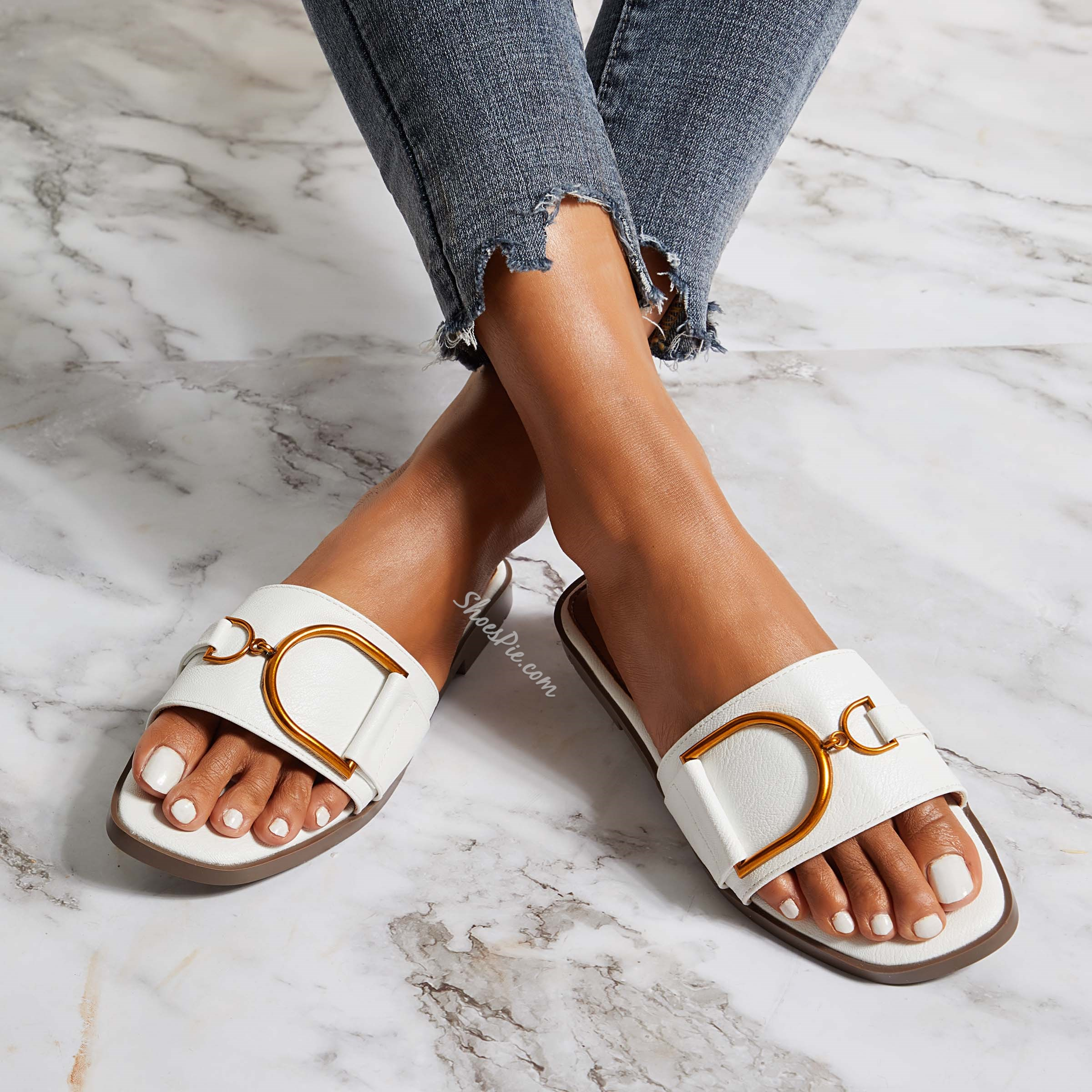 Shoespie Summer Casual Flat Slippers