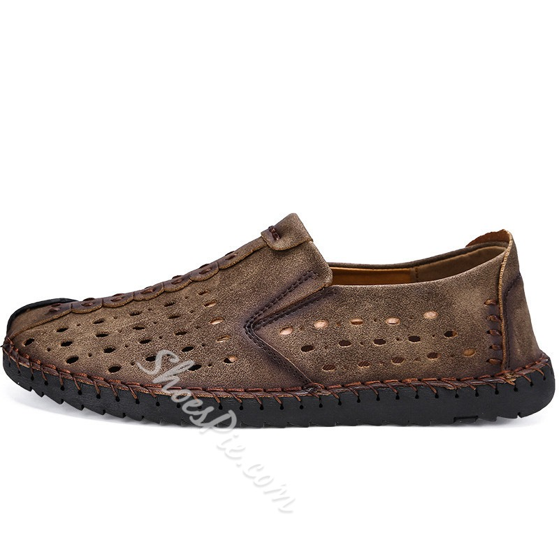 Shoespie Hollow Men's Casual Flat Loafers