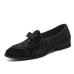 Shoespie Men's Suede Flat Loafers