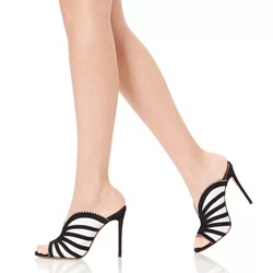 Shoespie Backless Stiletto Heel Mules