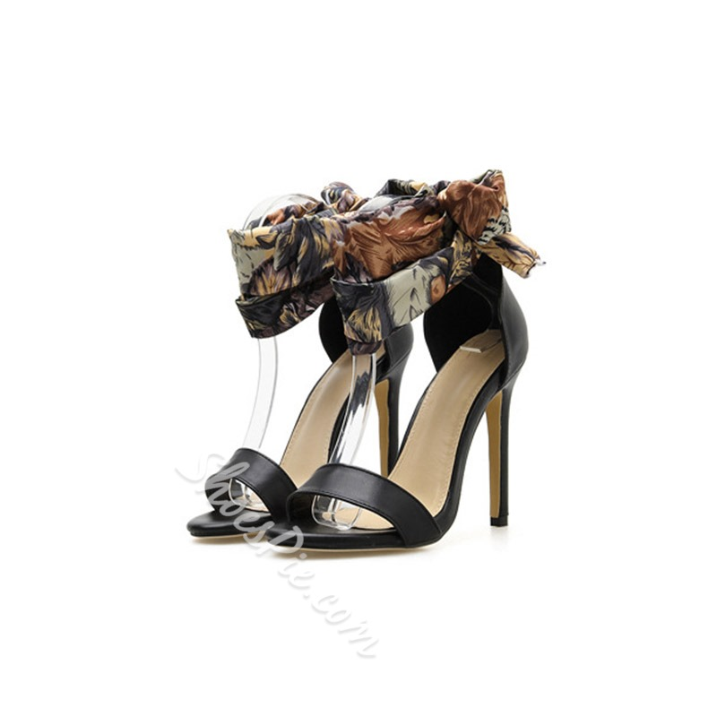 Shoespie Strappy High Heel Open Toe Sandals
