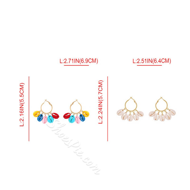 Alloy E-Plating European Prom Earrings