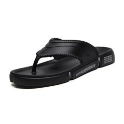 Shoespie Black Casual Men's Flip Flops