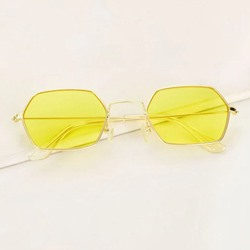 Jelly Color Wrap Poly Carbonate Sunglasses