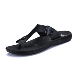 Shoespie Black Men's Summer Slippers