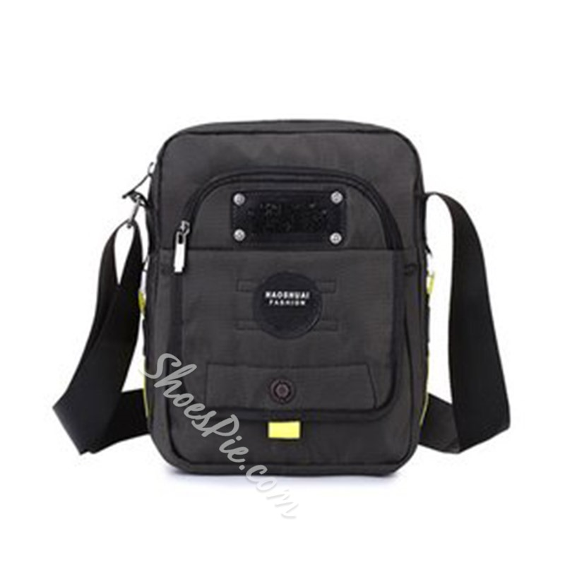 Shoespie Nylon Thread Square Crossbody Men's Bag