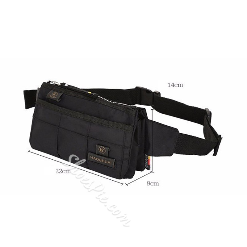 Shoespie Thread Nylon Waist Men Bags