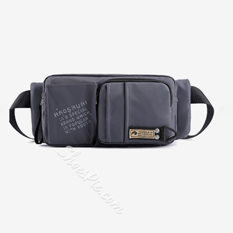 Shoespie Thread Men Nylon Waist Men's Bag