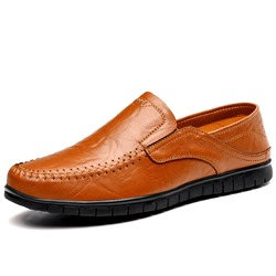 Shoespie Men's Slip On Flat Loafers