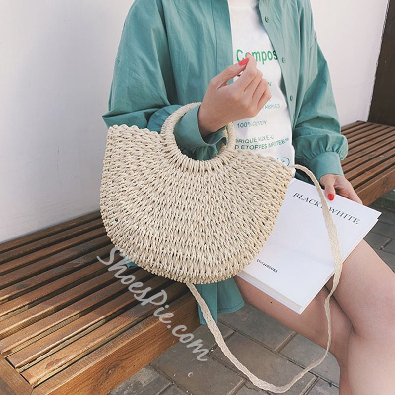 Shoespie Knitted Tote Bags