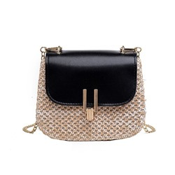 Shoespie PU Lock Crossbody Bags