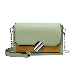 Shoespie PU Patchwork Crossbody Bags