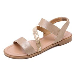 Shoespie Flat Strappy Open Toe Sandals