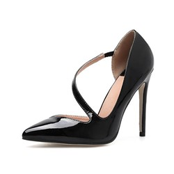 Shoespie Stiletto Heel Pointed Toe Pumps