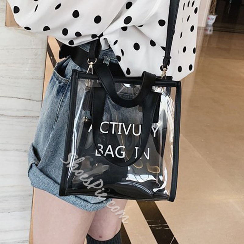 Shoespie Letter Tote Bags