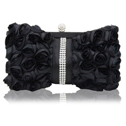 Shoespie Versatile Rose Rectangle Clutches & Evening Bags