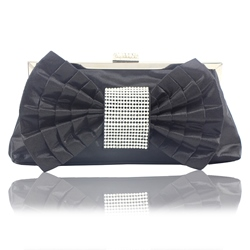 Shoespie Bow-Knot Decorated Versatile PU Clutches Bags