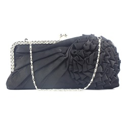 Shoespie Floral Decorated Rectangle Versatile Clutches Bags