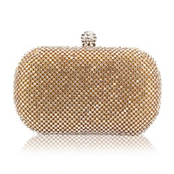 Shoespie Banquet Diamond-Studded Evening Bag