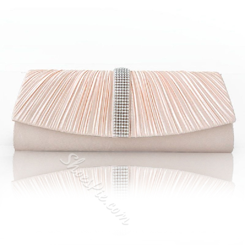 Shoespie Beaded Rectangle Banquet Clutches Evening Bags