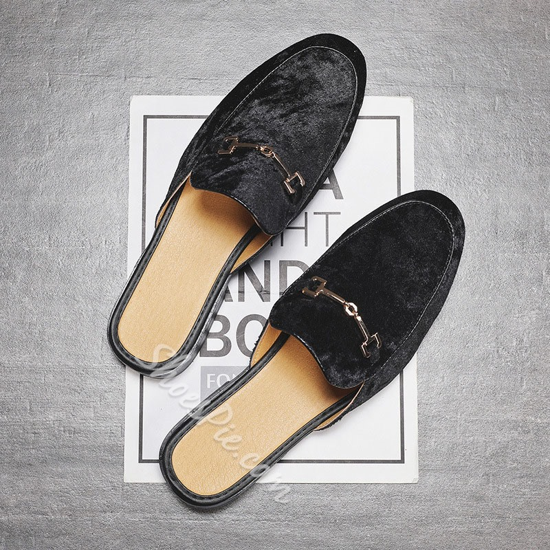 Shoespie Summer Men's Backless Slippers