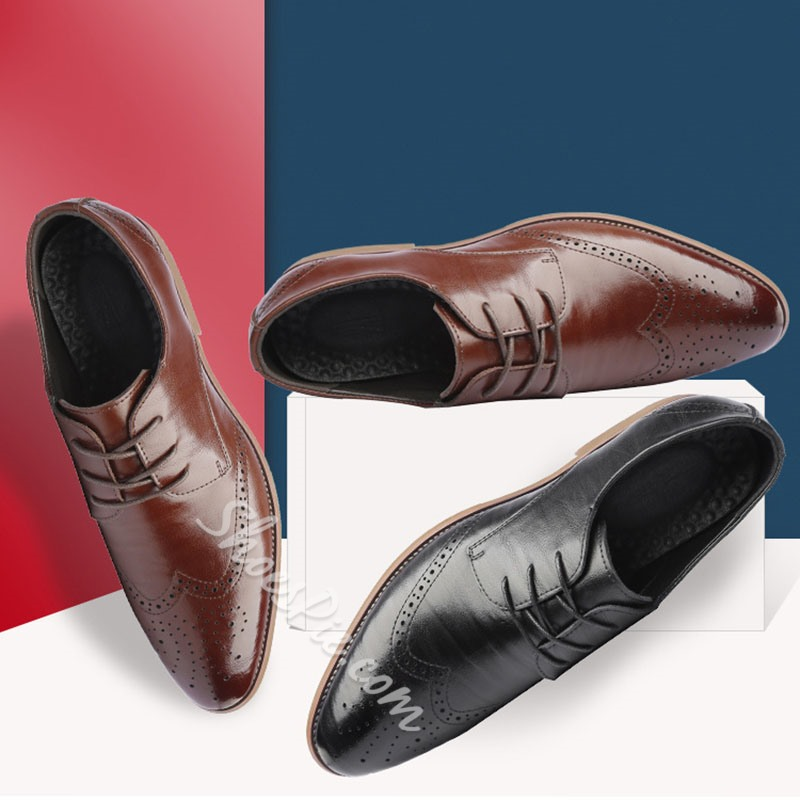 Shoespie Lace-Up Men's Oxford Shoes