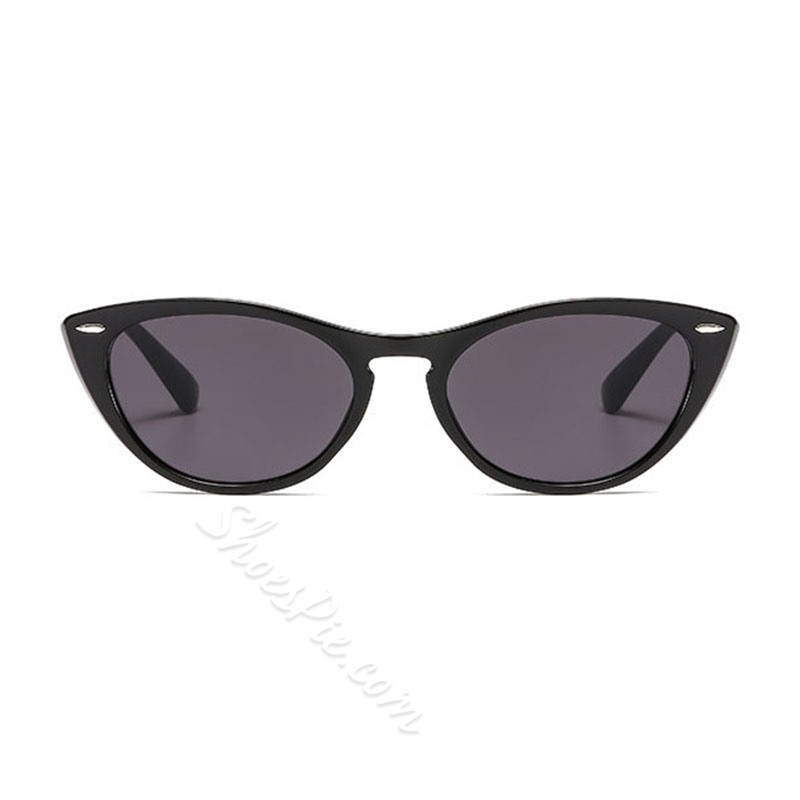 Vintage Resin Cat Eye Sunglasses
