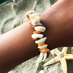 Acrylic Sweet E-Plating Women Bracelets