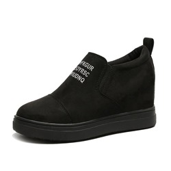 Shoespie Hidden Heel Casual Sneakers