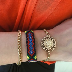 Geometric Ethnic E-Plating Female Bracelets