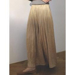Plain Expansion Ankle-Length Mid Waist Women's Skirt