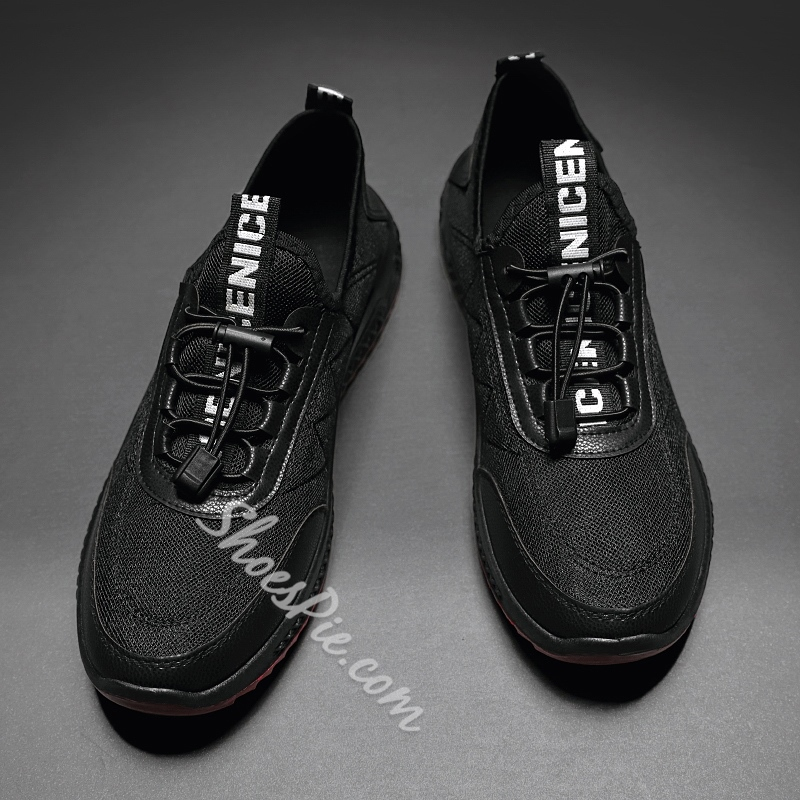 Shoespie Men's Low-Cut Upper Flat With Sports Lace-Up Sneakers