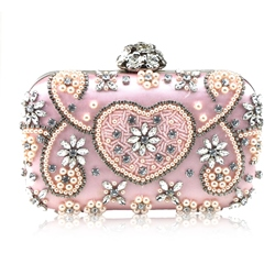 Shoespie Luxurious Handmade Rhinestone Decoration Clutch