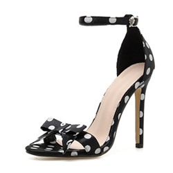 Shoespie Trendy Heel Covering Buckle Open Toe Buckle Sandals