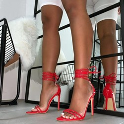 Shoespie Sexy Stiletto Heel Lace Up Sandals
