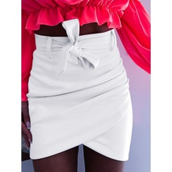 Asymmetric Bodycon Mini Skirt Date Night Women's Skirt