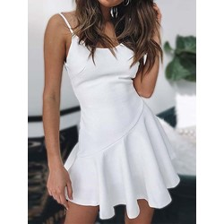 Above Knee Sleeveless Women's Casual Dress