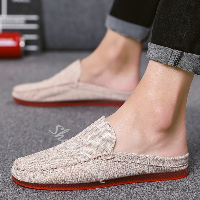 Shoespie Men's Flat Casual Summer Slippers