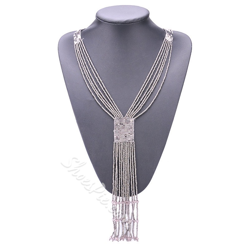 Bohemian Plain Pendant Women Necklaces