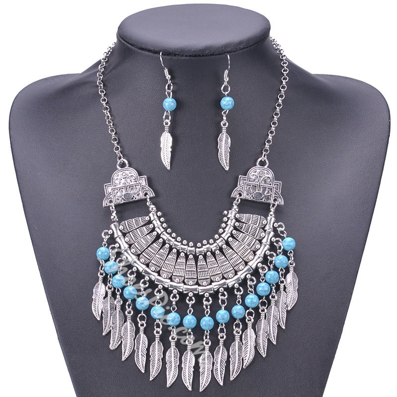 E-Plating Necklace Vintage Holiday Jewelry Sets