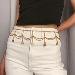 Tassel Female Metal Waist Chains